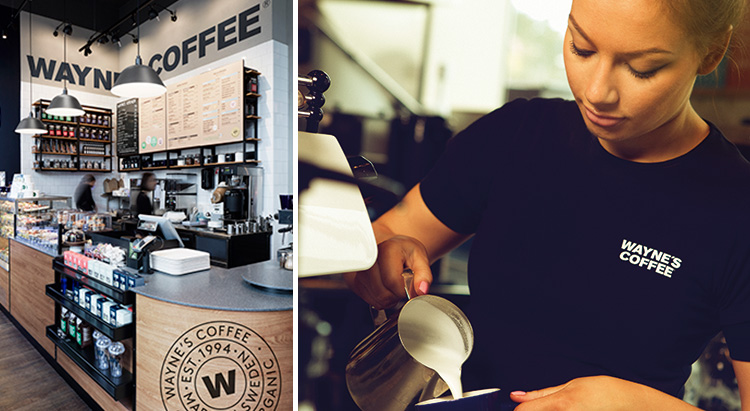Wayne's Coffee växer med ny ägare