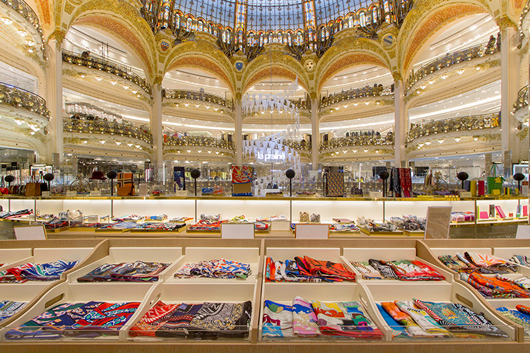 Live Shopping hos Galeries Lafayette