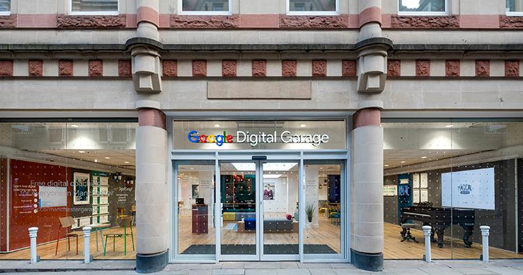 Här är Googles digitala garage