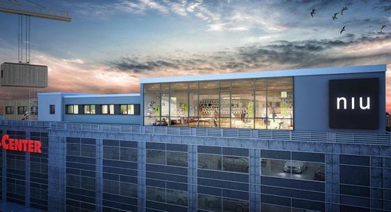 Köpcentrum öppnar hotell på taket