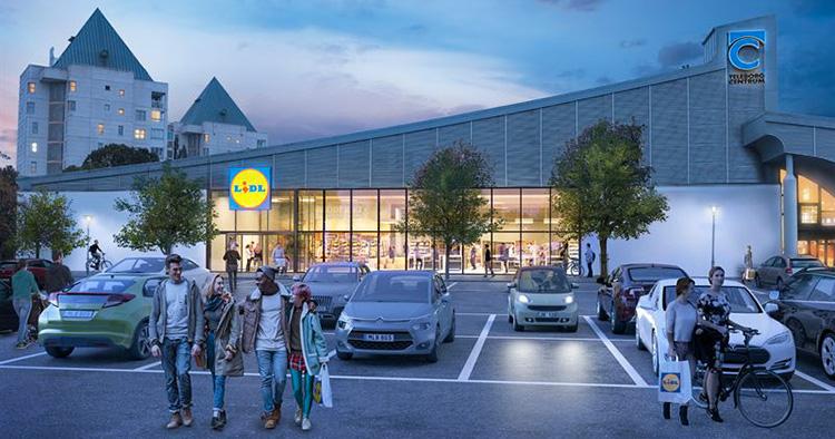 Lidl öppnar tredje butiken i Växjö