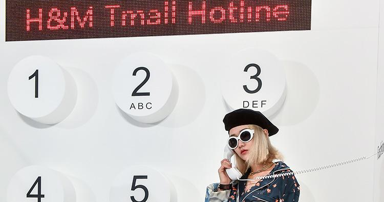 Nu har H&M öppnat i Alibabas Tmall