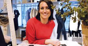 Ny modebutik i genuin miljö