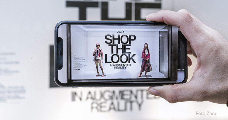 Zara lanserar augmented reality
