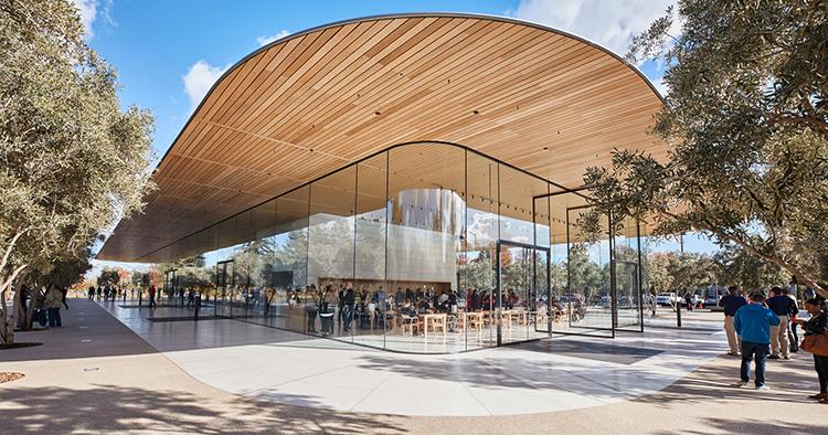 Apple använder enbart förnybar energi