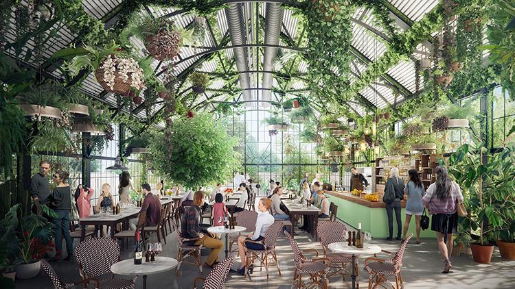 Här byggs världens grönaste köpcentrum