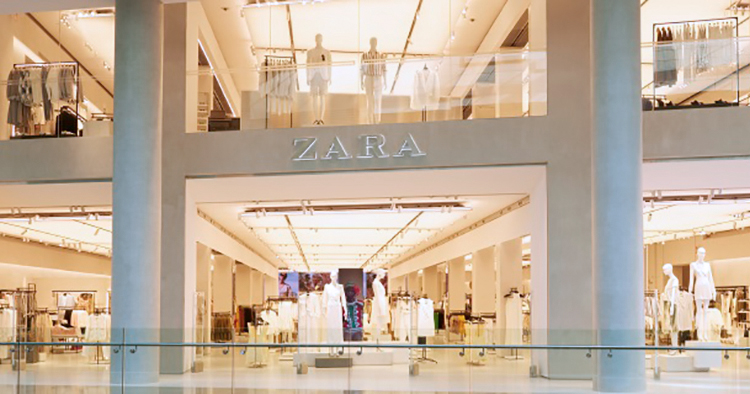 Nu har Zara öppnat sin framtidsbutik