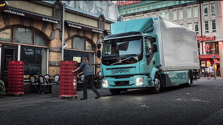 Coop levererar med ny el-lastbil