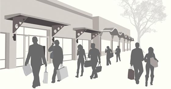 Så ser köpcentrumet ut år 2023