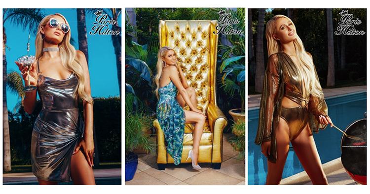 Boohoo i samarbete med Paris Hilton