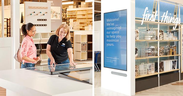Teknik och personal lyfter butiken