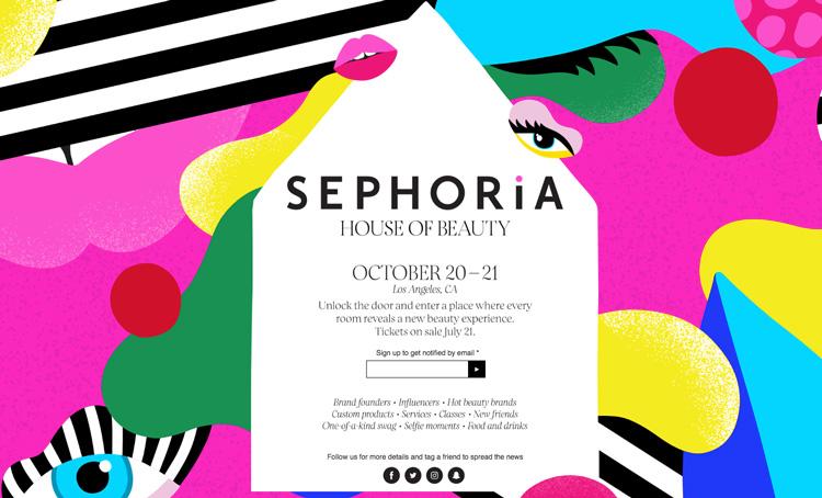 Sephora blir Sephoria