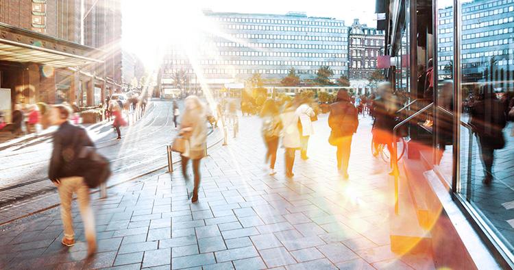 E-handeln påverkar städers utformning