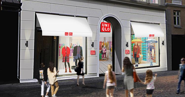 Uniqlo öppnar på Strøget i Köpenhamn