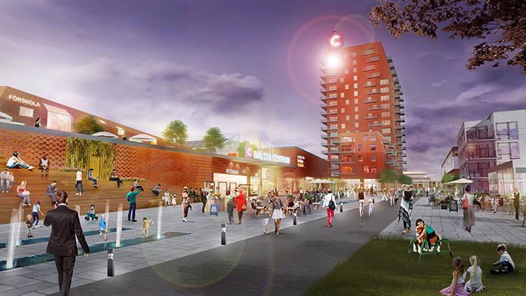 Nya planer för Bålsta Centrum