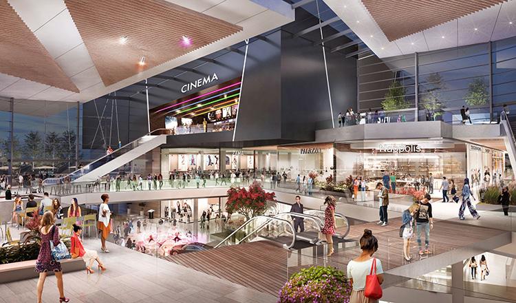Spektakulär F&B  i nytt köpcentrum