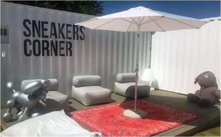 Sneakers Corner poppar upp i Båstad