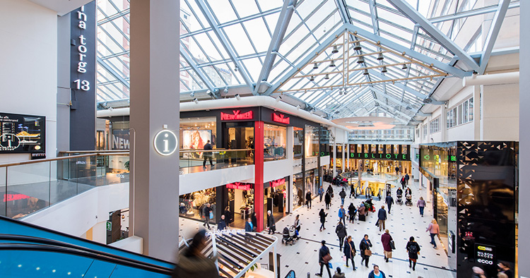 Lidl öppnar butik i köpcentrum