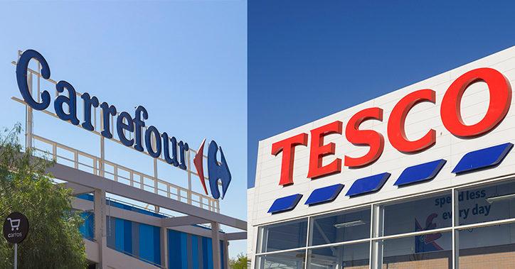 Därför samarbetar Tesco och Carrefour