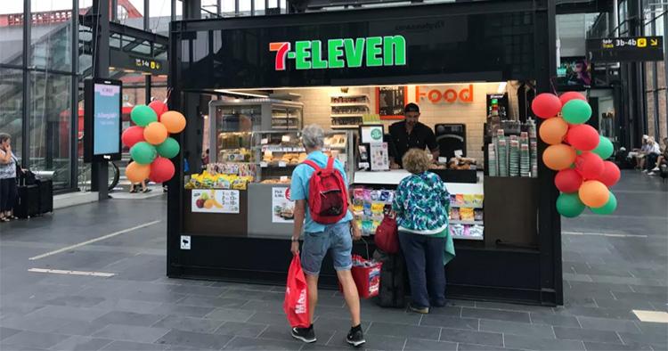 7-Eleven testar snabbt koncept