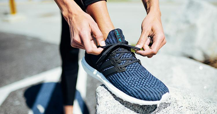 Bara återvunnen plast för Adidas