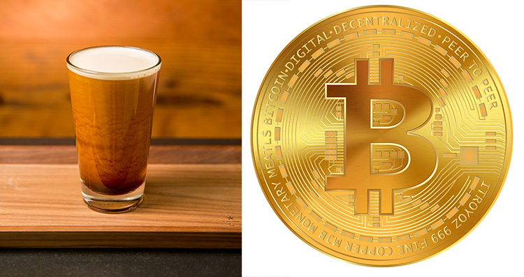 Betala kaffet med bitcoin
