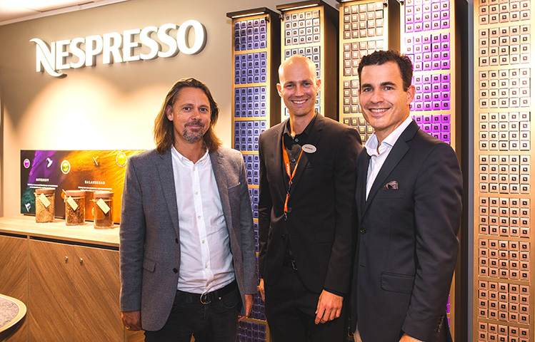 "Nespressos nya ""boutique-in-shop"""