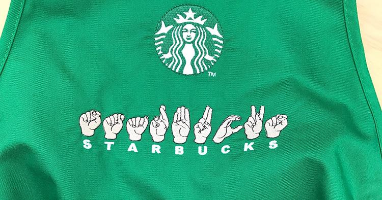 Teckenspråk hos Starbucks