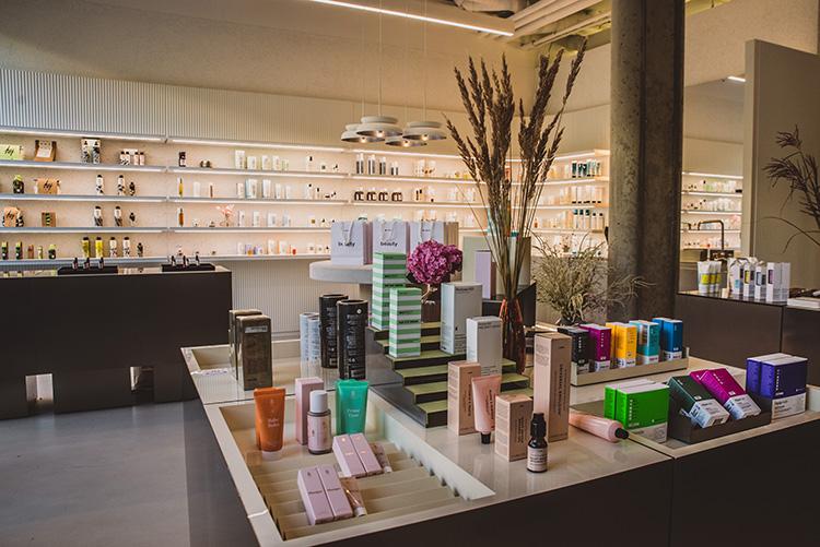 Se Zalandos fysiska skönhetsbutik