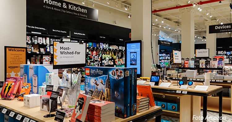 Amazon öppnar nytt butikskoncept