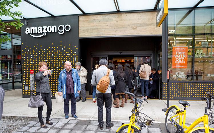 Bezos sägs sikta på 3 000 Amazon Go