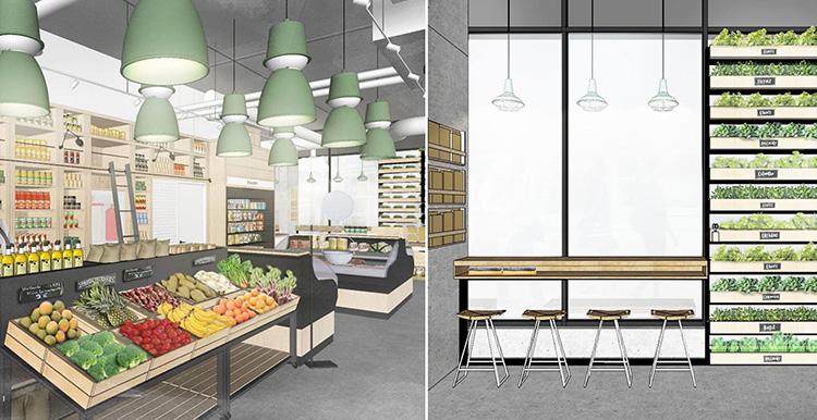 E-matbutik öppnar fysiska butiker