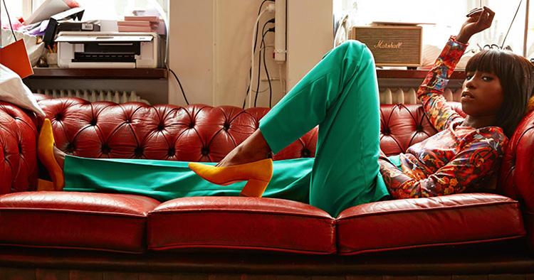Sabina Ddumbas kärlek till skor