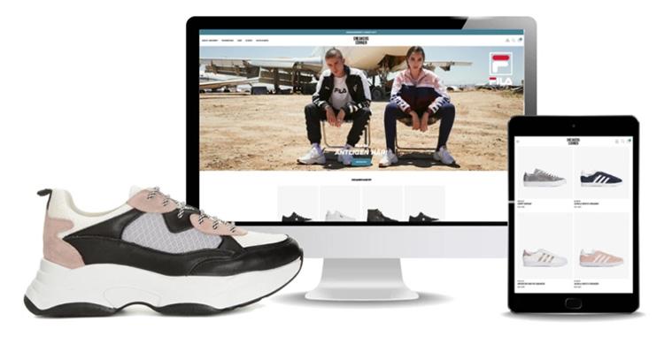 Ny sneakerbutik lanseras online