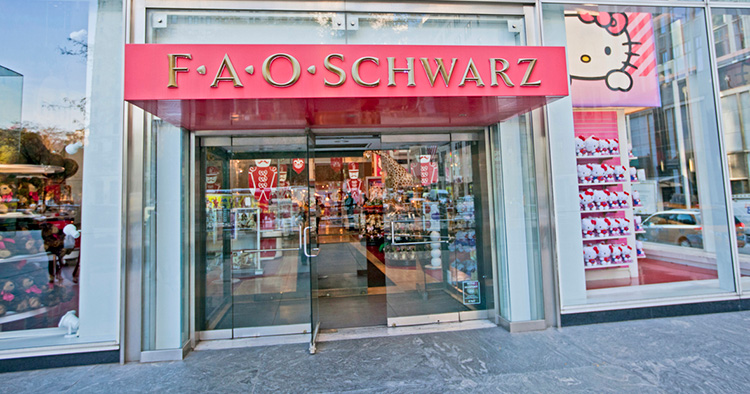 Nu gör FAO Schwarz comeback