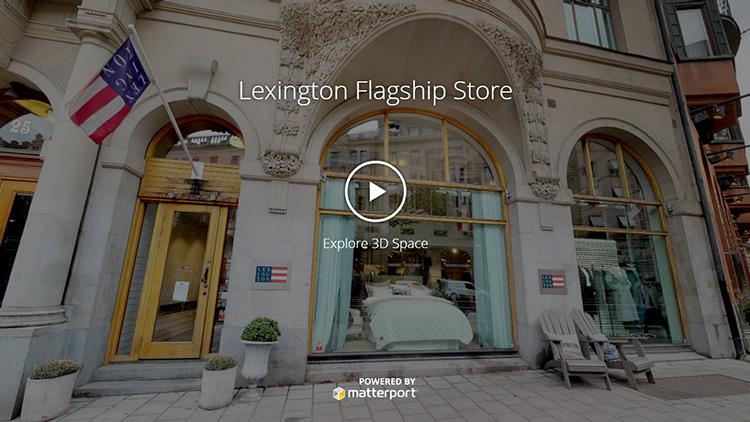 Kika in i Lexingtons nya 3D-butik