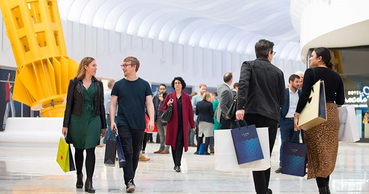 London har fått ett nytt köpcentrum
