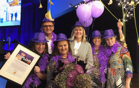 Helsingborg är Årets Purple Flagstad 2018