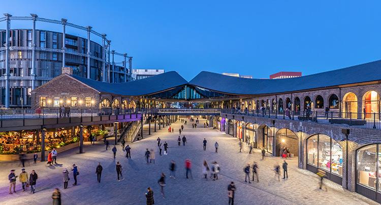 Se bilderna från Londons nya destination