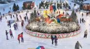 Köpcentrumet bygger egen isrink