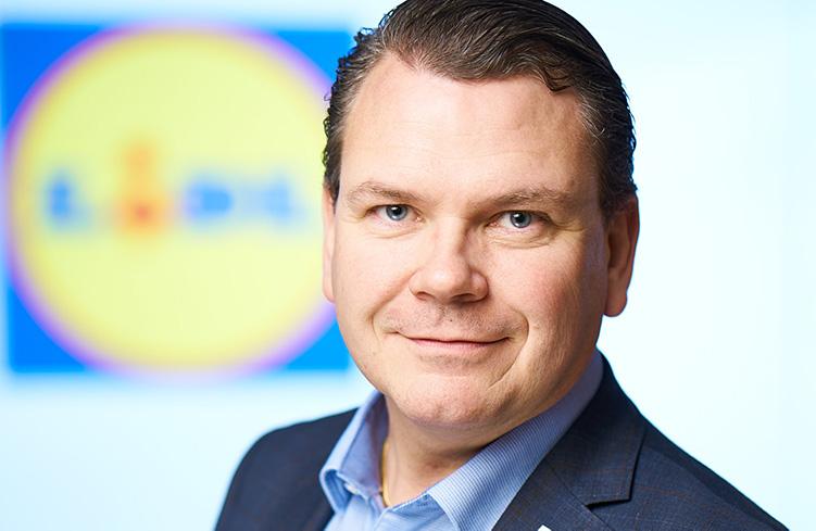 Jonas ny fastighetschef på Lidl Sverige