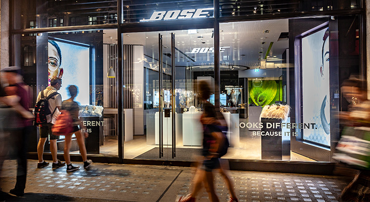 Ljudupplevelser i Bose nya flaggskepp