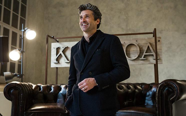 Patrick Dempsey delägare i modeföretag