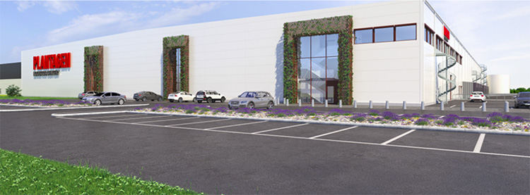 Plantagen öppnar nytt logistikcenter