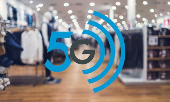Bättre butiksupplevelser med 5G