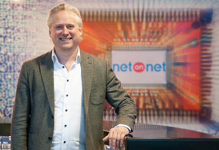 Han är ny CFO på NetOnNet