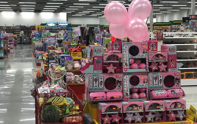Satsning på leksaker i gränshandeln