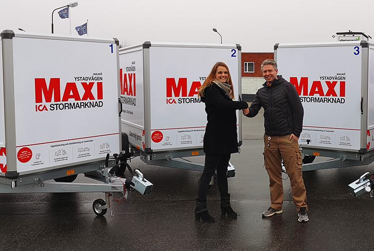 Hållbarhet i fokus hos Ica Maxi i Malmö