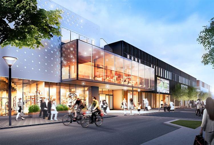 I dag öppnar Kongahälla Center