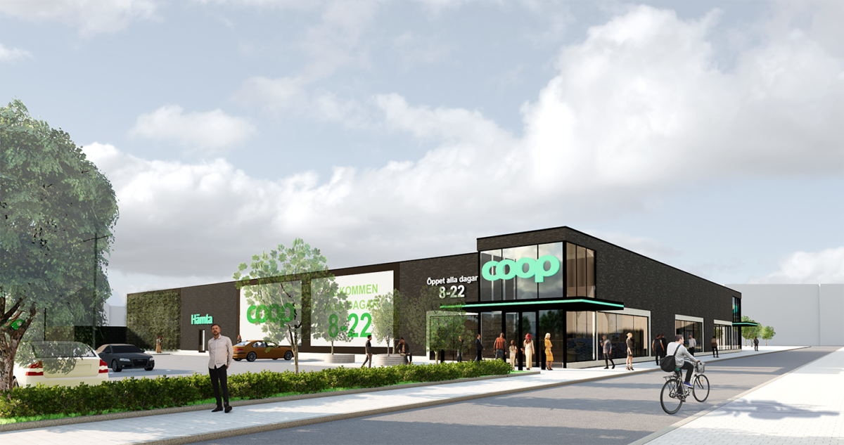 Coop öppnar ny butik i  Kävlinge